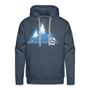 BBQ A Mile High - Men's Premium Hoodie