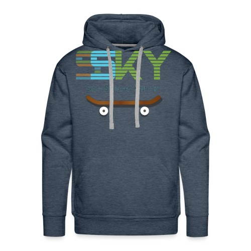 SSKY board logo - Men's Premium Hoodie