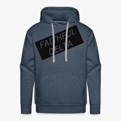 Faithful - Men's Premium Hoodie