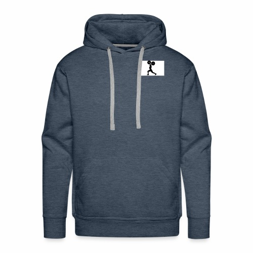 Weight lifters - Men's Premium Hoodie