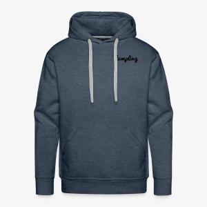DUMPLING (BLACK) - Men's Premium Hoodie