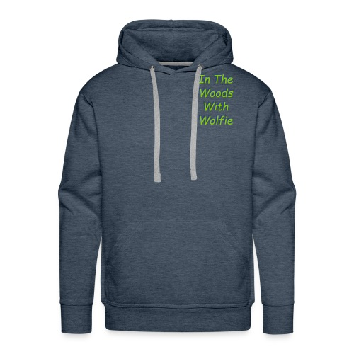 New Text logo - Men's Premium Hoodie