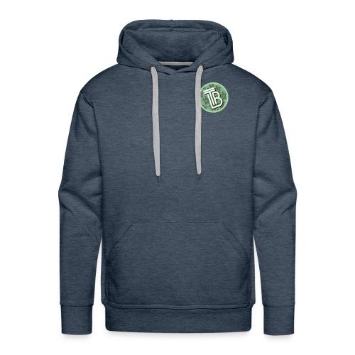 TurtleBeverage Patch Logo - Men's Premium Hoodie