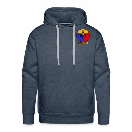 Delta Fox Patch Crest - Men's Premium Hoodie