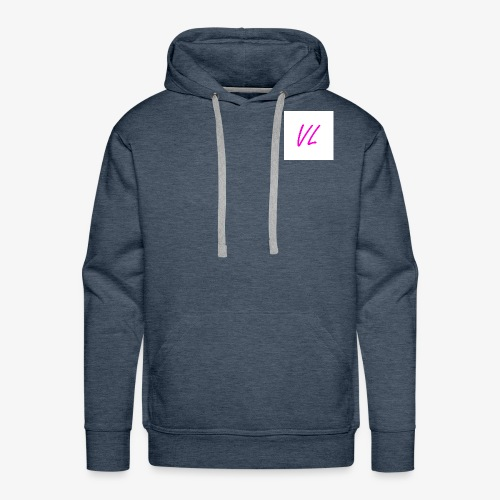 Pink VL Cursive - Men's Premium Hoodie
