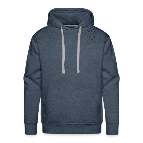 World Peace and Prayer Day - Men's Premium Hoodie