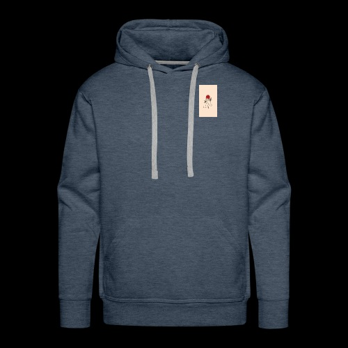 roses and hands - Men's Premium Hoodie