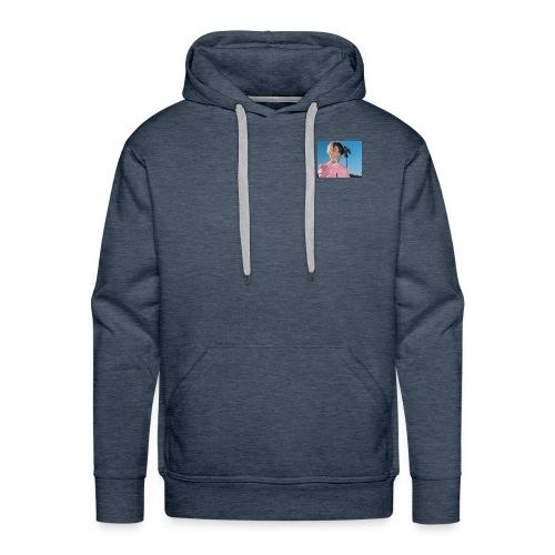 lil peep blue - Men's Premium Hoodie