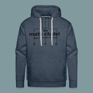Abstract Math Citadel - Men's Premium Hoodie