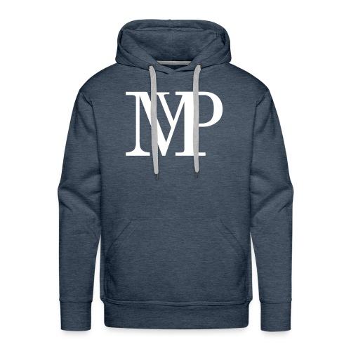 (White) Mvp Logo - Men's Premium Hoodie