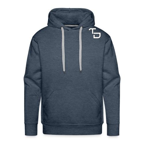 TD Small logo - Men's Premium Hoodie