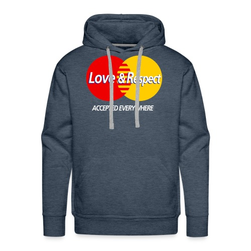 Love and Respect - Men's Premium Hoodie