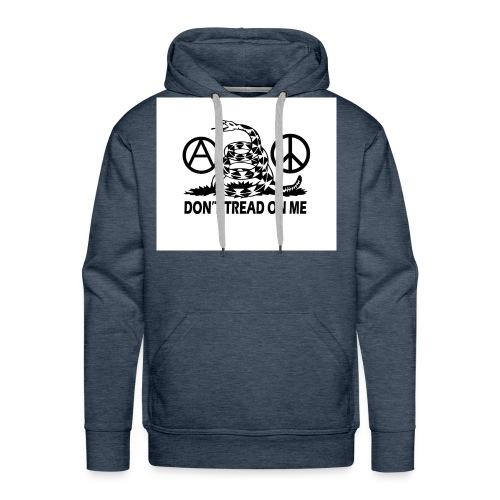 anarchy peace gasden - Men's Premium Hoodie