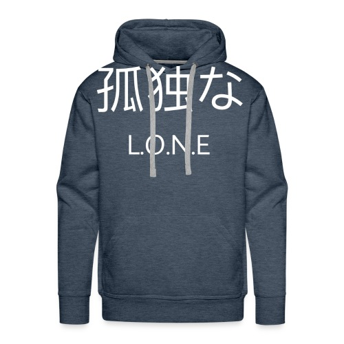 L.O.N.E - Men's Premium Hoodie