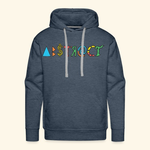 Abstract - Men's Premium Hoodie