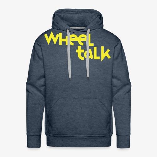 Wheeltalk Podcast - Men's Premium Hoodie