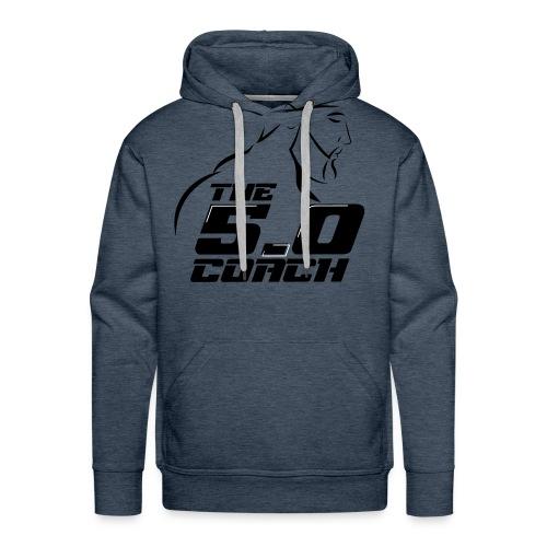 The 5 0 coach logo - Men's Premium Hoodie