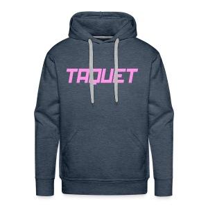 Taquet Politik - Pink - Men's Premium Hoodie