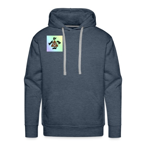 HTSS Old School Blue/Purple Design - Men's Premium Hoodie