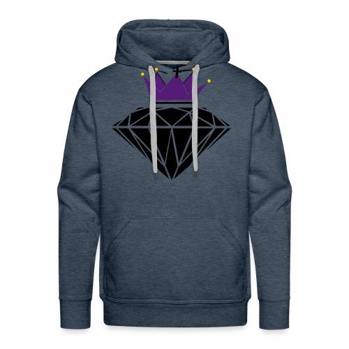 diamante corona - Men's Premium Hoodie