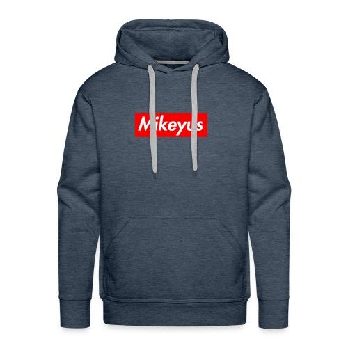Mikeyus Box Tee - Men's Premium Hoodie