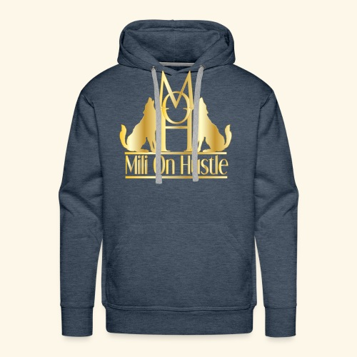 New Mili On Hustle - Men's Premium Hoodie