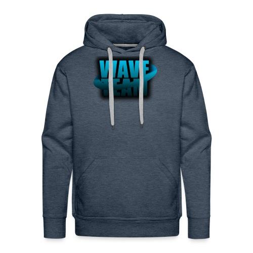 Wave Team Surf Logo - Men's Premium Hoodie