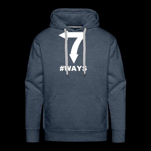7 ways - Men's Premium Hoodie