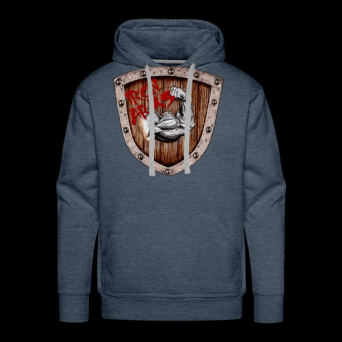Iron Arms Shield Logo - Men's Premium Hoodie