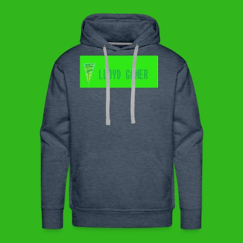 logo green - Men's Premium Hoodie