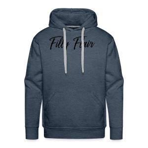 fillyflair blk - Men's Premium Hoodie