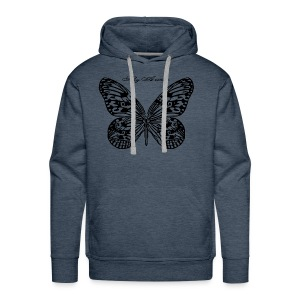 Fly Away B - Men's Premium Hoodie