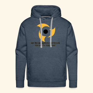 Official Blue Color Apparel Waupun's Very Own IBN - Men's Premium Hoodie
