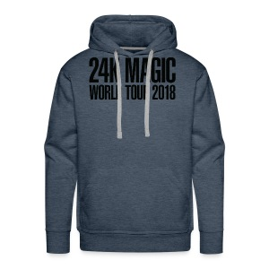 BRUNO MARS 24K MAGIC WORLD TOUR 2018 T-Shirt - Men's Premium Hoodie