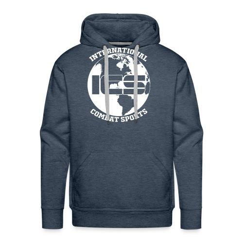 ICS Logo Blue - Men's Premium Hoodie