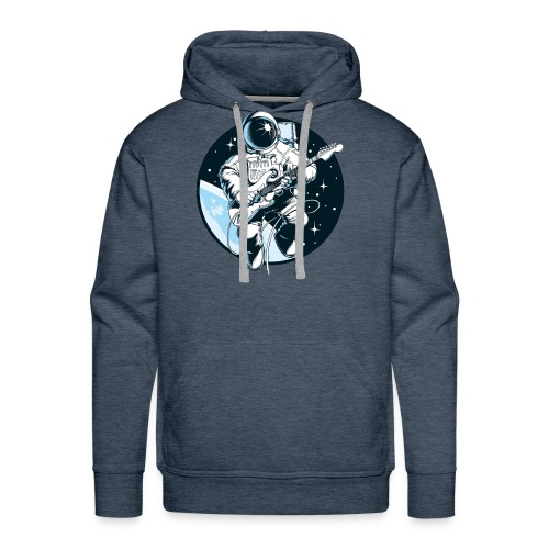 Astronaut Guitar - Men's Premium Hoodie