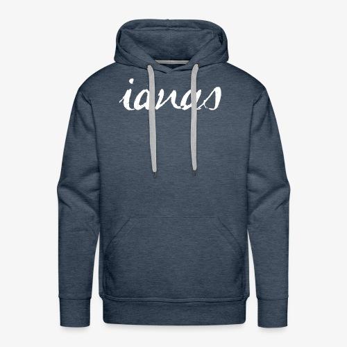 IANAS White - Men's Premium Hoodie