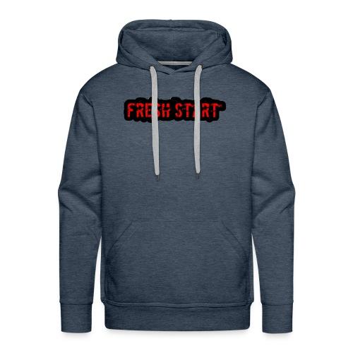Fresh Start T - Men's Premium Hoodie