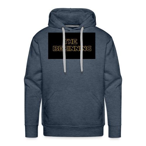 The biginning - Men's Premium Hoodie