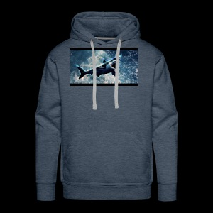 awesome sharks - Men's Premium Hoodie