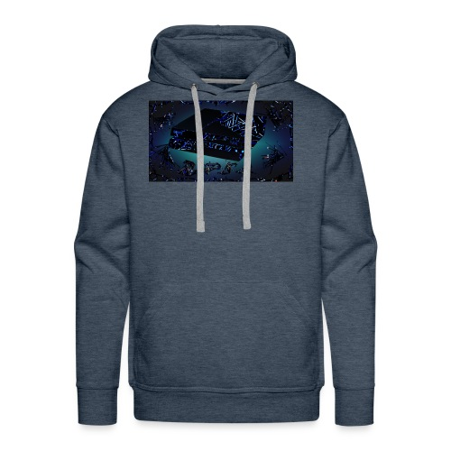 ps4 back grownd - Men's Premium Hoodie