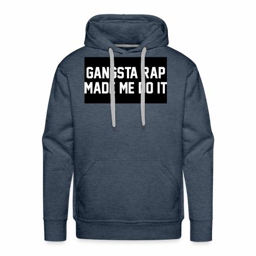 Gansta Rap - Men's Premium Hoodie