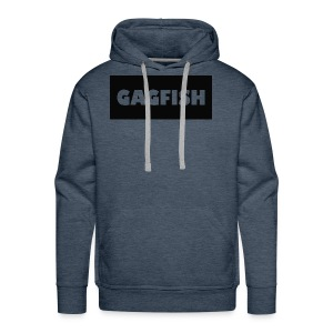 GAGFISH BLACK LOGO - Men's Premium Hoodie