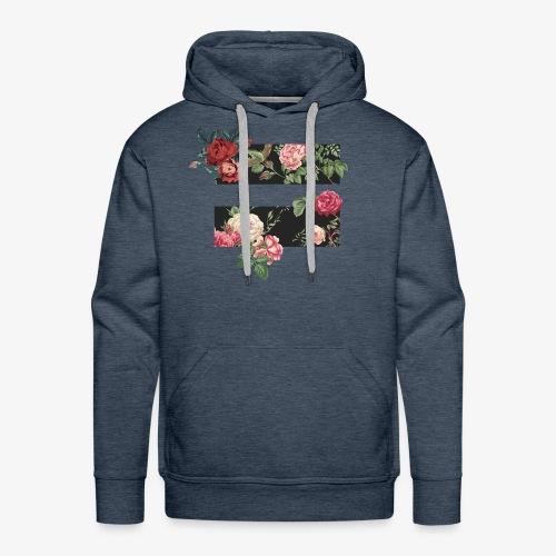 equality floral symbol - Men's Premium Hoodie