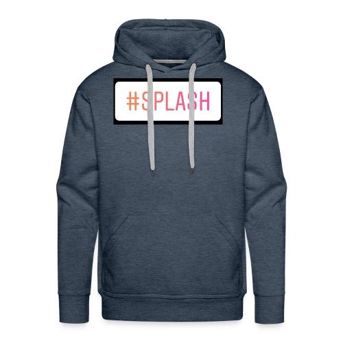 Splash Long sleeves - Men's Premium Hoodie