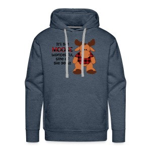 moose wonderful time of the year - Men's Premium Hoodie