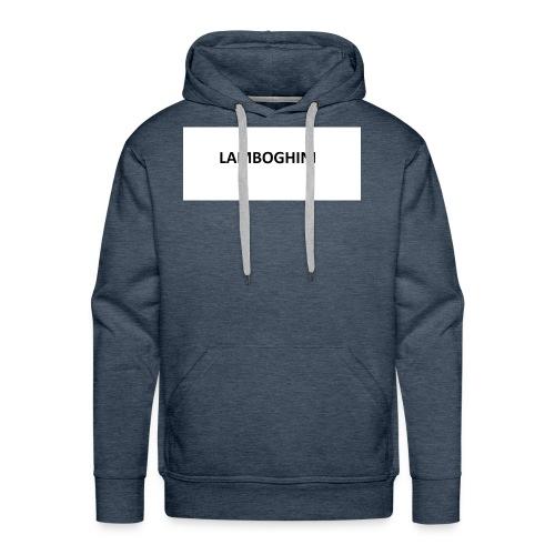 LAMBOGHINI SHIRT - Men's Premium Hoodie