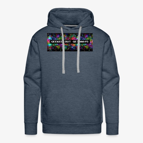 Geeked Out Getaways Logo - Men's Premium Hoodie