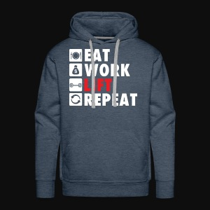 Gym Rat Life Style - Men's Premium Hoodie