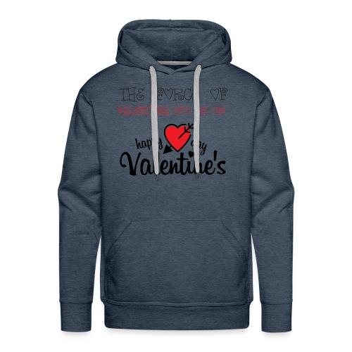 valentines - Men's Premium Hoodie